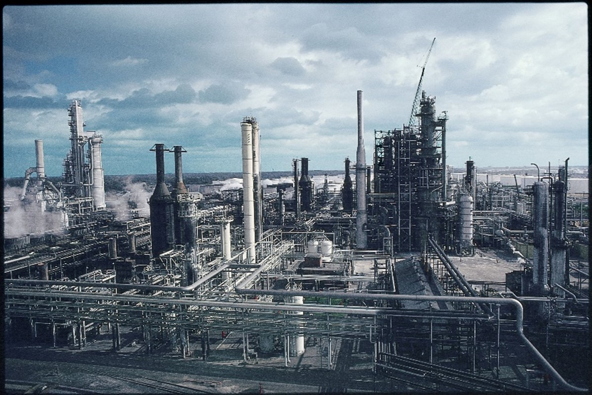 Refinery in Lake Charles, LA. Credit: Phillips 66 Historical Archives