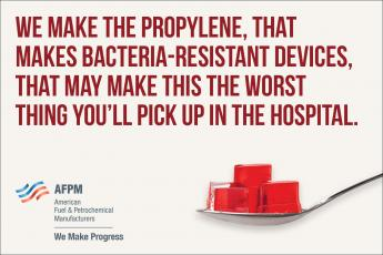 Propylene is helping hospital patients