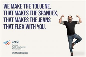 Toluene: The secret ingredient in stretch jeans