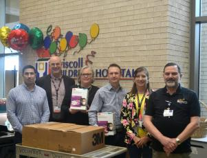 Kiewit donates face masks to hospitals